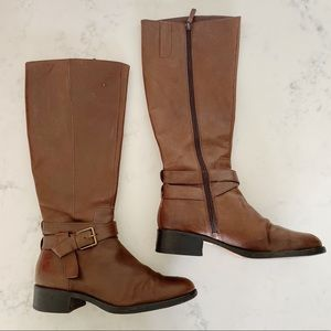 Cole Haan | Tall Brown Leather Riding Boots Sz. 9